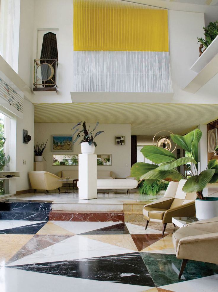 286 Best Images About 60s Interiors On Pinterest
