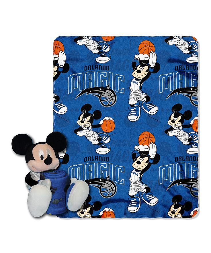 Orlando Magic Mickey Mouse Plush & Throw