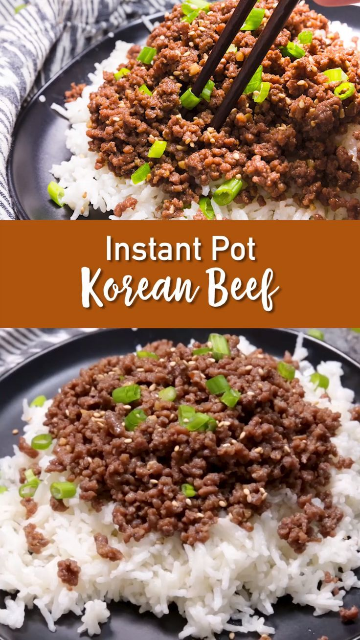 Instant Pot Korean Beef Easy Peasy Meals Recipe In 2020 Beef Recipe Instant Pot Instant Pot Dinner Recipes Healthy Beef Recipes