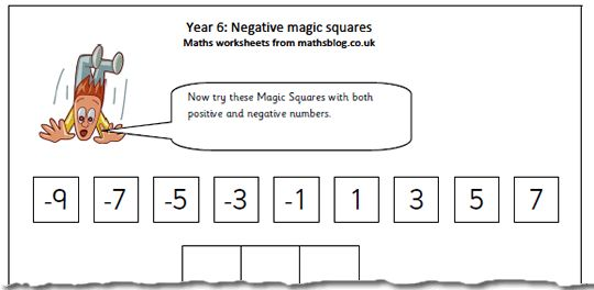 Maths Blog - lots of great worksheets