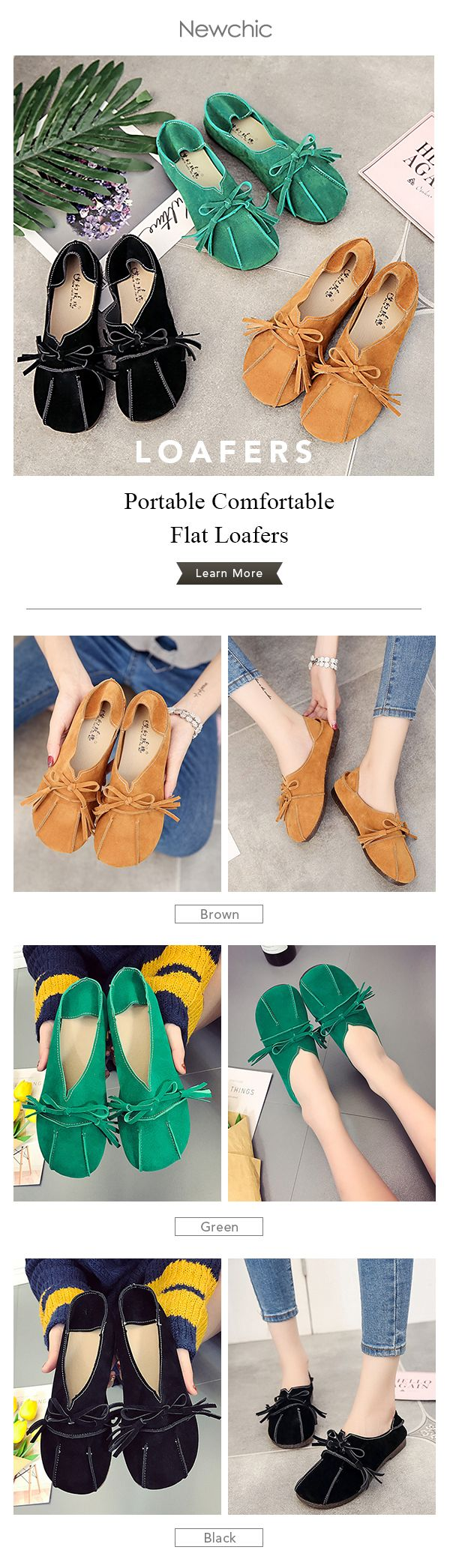 Spring is coming!Would you like to have a pair of casual loafers for this spring?
