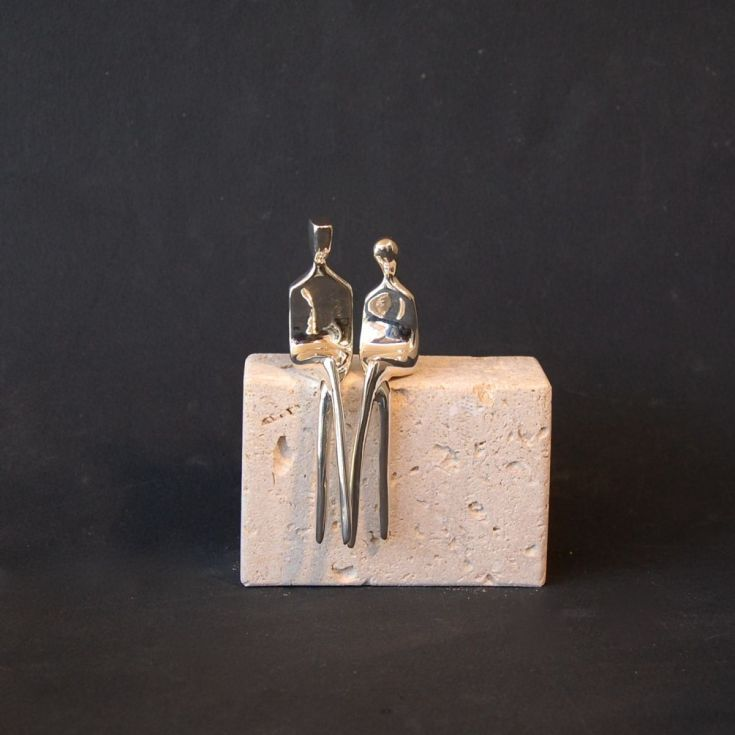 "Buy ""The Two of Us"" ( Limited Edition Silver), Limited edition sculpture by Yenny Cocq on Artfinder. Discover thousands of other original paintings,…"