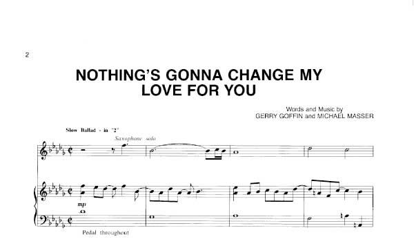 nothing gonna change my love for you download