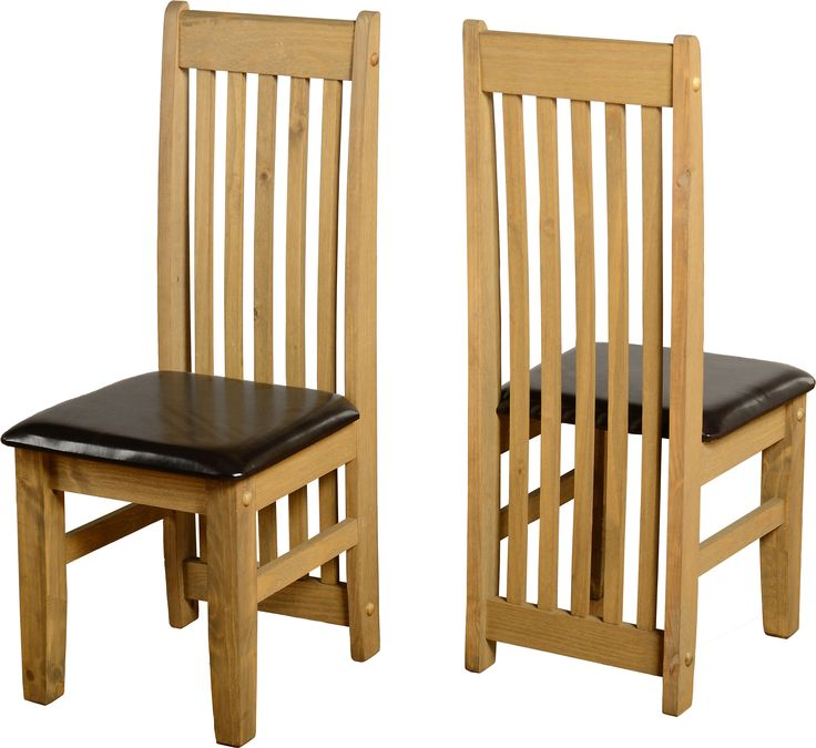 sales@spt-furniture.com Tortilla Chair (PAIR) Distressed Waxed Pine/Expresso Brown PU Assembled Sizes(MM) 425 x 500 x 1070   PINE PU FOAM MDF Extra Information SEAT PAD SIZE W425 D445 SEAT PAD HEIGHT H455 BACKREST HEIGHT H615
