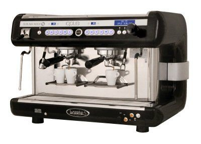 Brasilia Opus-Sub-2 Opus Sublima 2 Group Automatic Espresso Machine by Brasilia. $9825.00. Has a large capacity stainless steel boiler for continuous dispensing and high volume steam supply. The brew groups can be arranged for combined use with pods (for special blends, decaf and infusions) and ground coffee. Features a simple user interface to monitor and control all brewing parameters. Includes 2 hot water spouts; 1 draws water directly from the main boiler and 1 ...