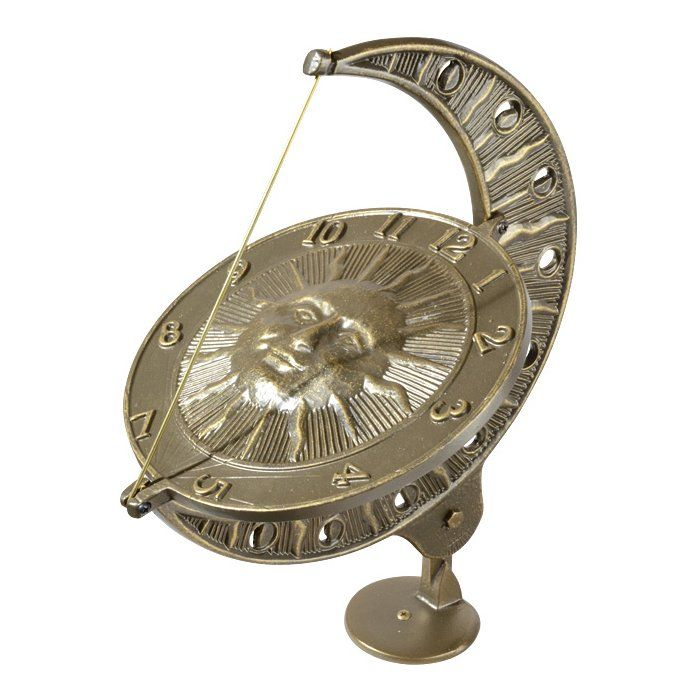 Sun And Moon Sundial In 2021 Sundials Sundial Whitehall Products
