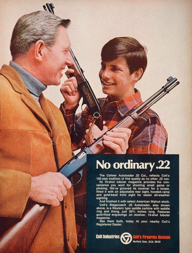 Image result for 1950s gun ads