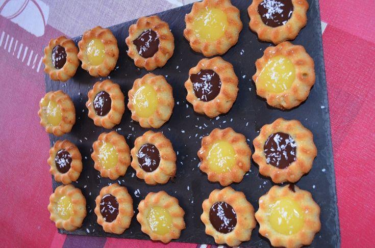 mini saint honoré coco chocolat citron