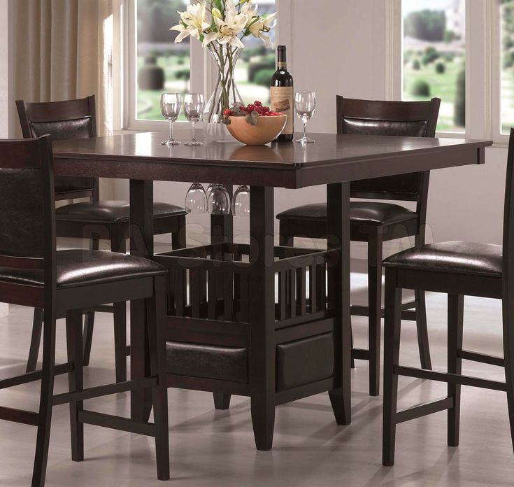 Tall Kitchen Tables With Stools | Table Sets 1796x1700 Jaden 5 Pc Counter  Height Set Table