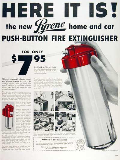 1953 Pyrene Extinguisher #003483