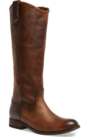 Frye 'Melissa Button' Leather Riding Boot (Women) available at #Nordstrom