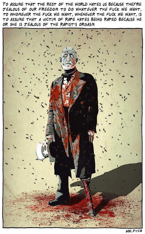 Mr. Fish #Cartoon #caricature #illustration featured on artdeli.de