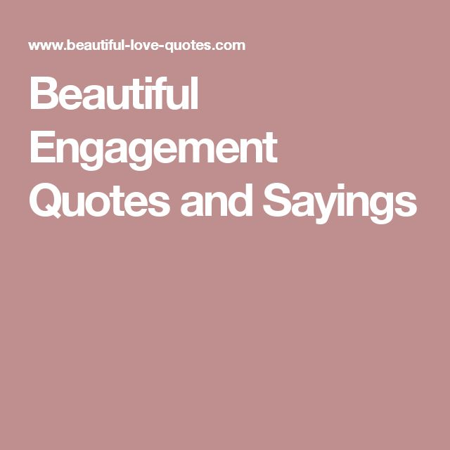 Traditional Marriage Quotes: Best 25+ Engagement Quotes Ideas On Pinterest