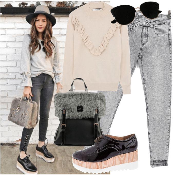 Paola Alberdi En Sweater Esta Semana  La linda blogger Mexicada de Blank Itinerary sabe como llevar una sudadera en un look casual para la semana. Inspírate de su look en esta semana de sudaderas