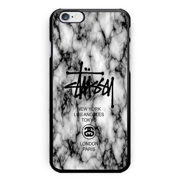 New Stussy Logo Custom White Marble For iPhone 7 Print Hard Plastic Case Cover #UnbrandedGeneric #iphone #case #iphonecase6s #iphonecase6splus #iphonecase7 #iphonecase7plus #stussy