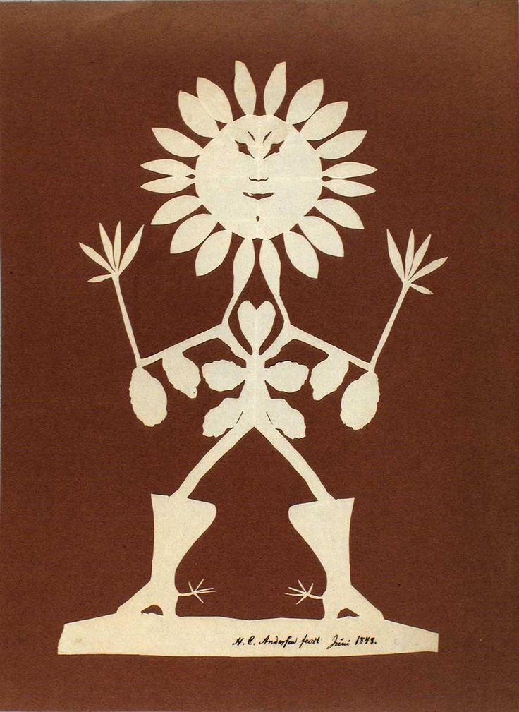 Papercut by H.C. Andersen.