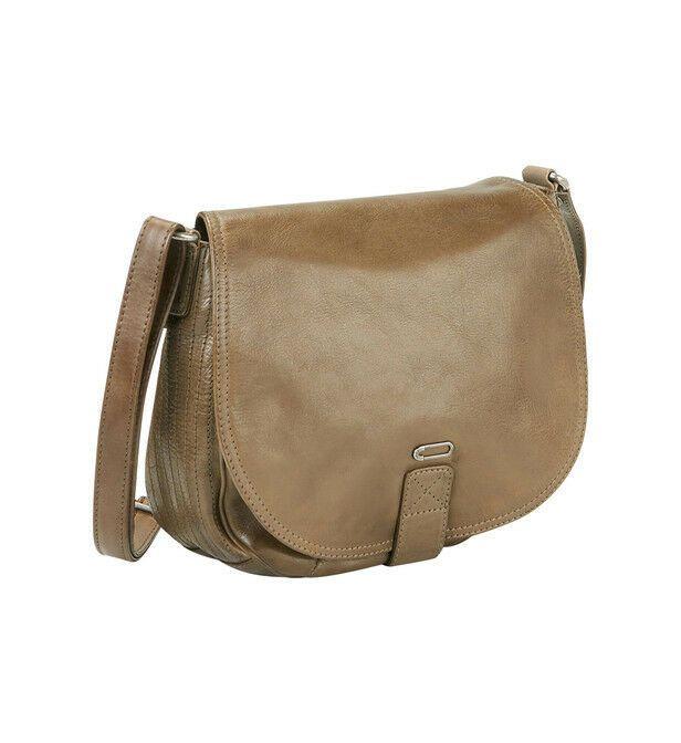 petit sac besace en cuir bronze IKKS neuf #Sacmain   Sac