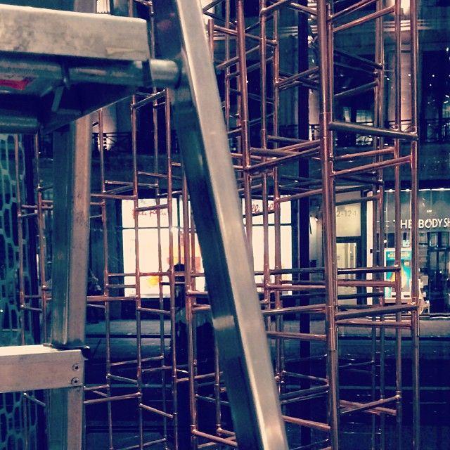 It's coming up #installation #RIBA #Penhaligons - @bmallan