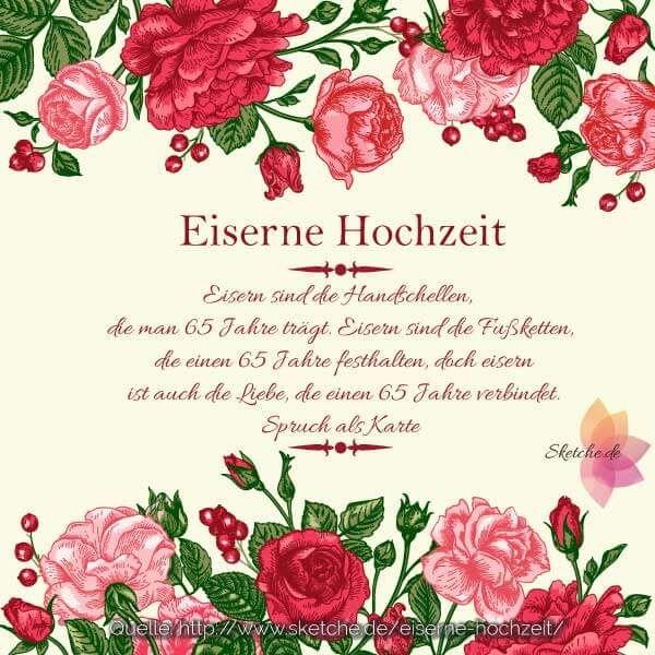 Entdecken Sie Zahlreiche Anregungen Fur Eine Ungetrubte Und Schone Eiserne Hochzeit Auf Unserer Internetse Eiserne Hochzeit Spruche Hochzeit Steinerne Hochzeit