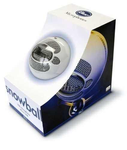 Blue Microphones Snowball USB Microphone (Textured White).  Teachers: document rehearsals and performances with a simple USB connection into the computer.