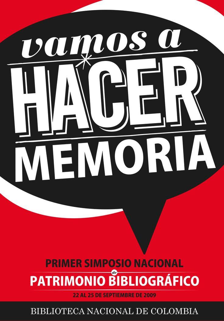 Biblioteca Nacional iniciativa Vamos a Hacer Memoria (2009)