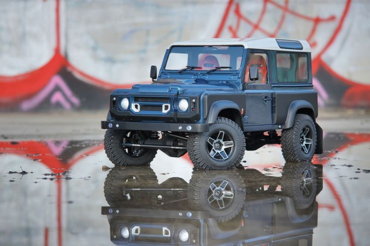 NEW Land Rover Defender D90 Kahn Hardbody for Axial SCX10 RC4WD Gelande MEX #LoopsModel