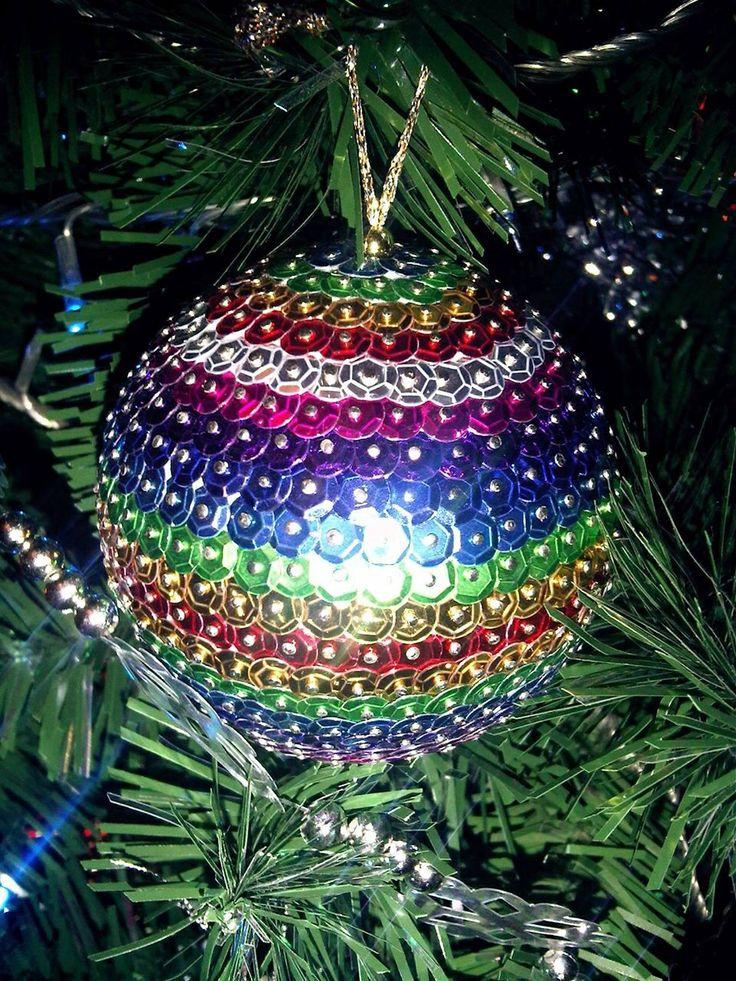 Christmas handmade bauble