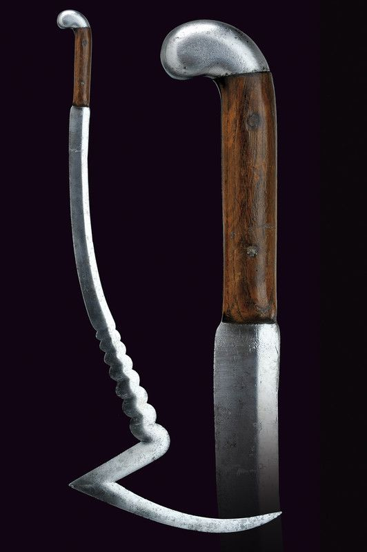 Indonesian Sabre Dated: 19th century Culture: Indonesian Medium: steel, wood Measurements: overall length 87 cm