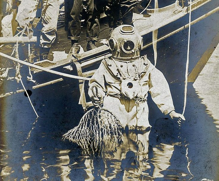 Historic Greek Sponge Diver Tarpon Springs Florida Photographs