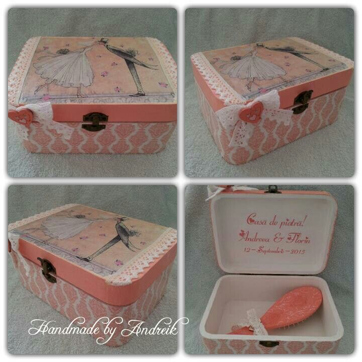 Handmade by Andreik decoupage boxes