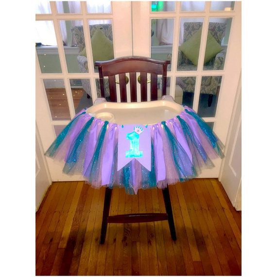 Check out this item in my Etsy shop https://www.etsy.com/listing/262001126/the-little-mermaid-highchair-tutu