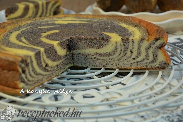 Kipróbált Túrós-mákos zebra torta recept egyenesen a Receptneked.hu gyűjteményéből. Küldte: erzsikonyha