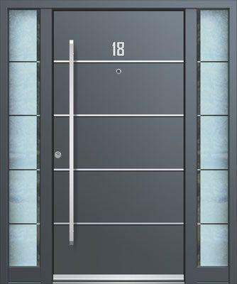 Haustüren mit breitem seitenteil  Die besten 25+ Aluminium haustüren Ideen auf Pinterest | Aluminium ...