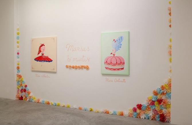 Lowbra, colective show, by Maria Imaginário, 2012
