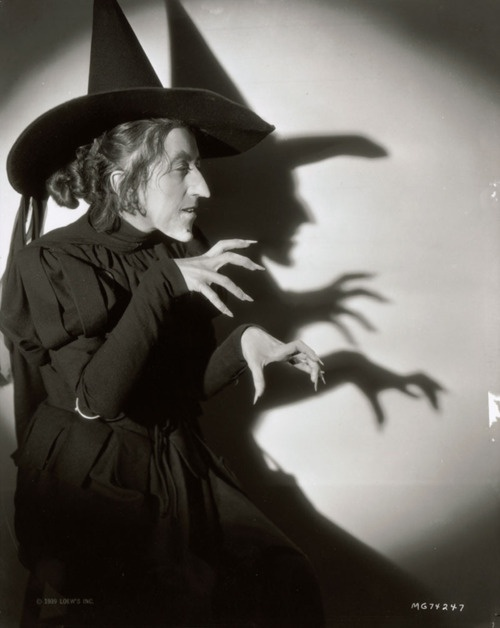 Margaret Hamilton, The Wizard of Oz, 1939 - could she be any scarier, even now im a grown up she makes me feel like a child hiding behind a cushion