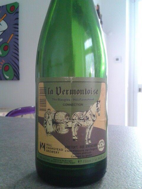 La Vermontoise, Brasserie de Blaugies/Hill Farmstead Brewery, saison, Belgium/USA