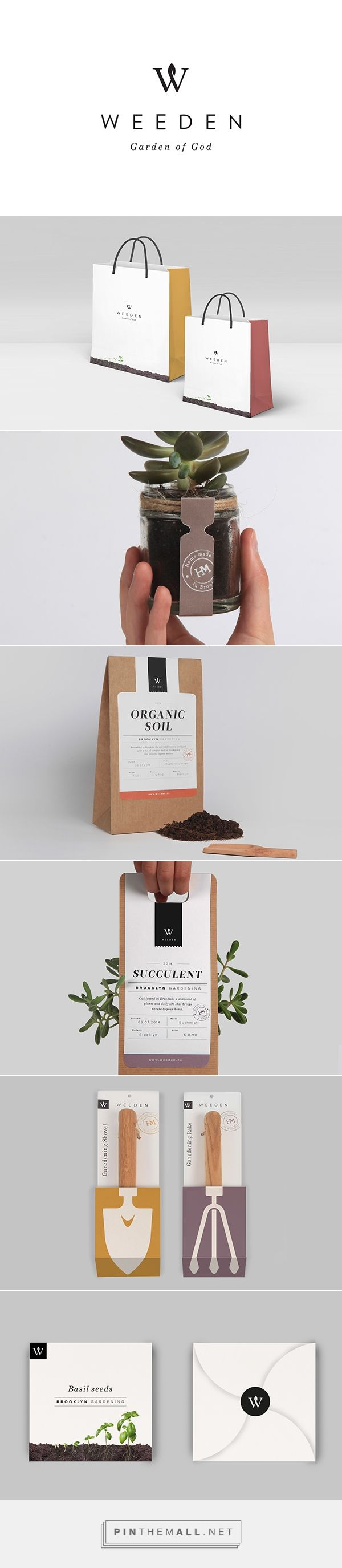 Weeden packaging branding on Behance by Florence Libbrecht curated by Packaging…