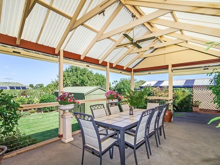 #Verandah #Pergola at #Morphett Vale sold by Kevin J. Barry from the #Professionals #Christies #Beach, #RealEstate agency - 08 8382 3773.