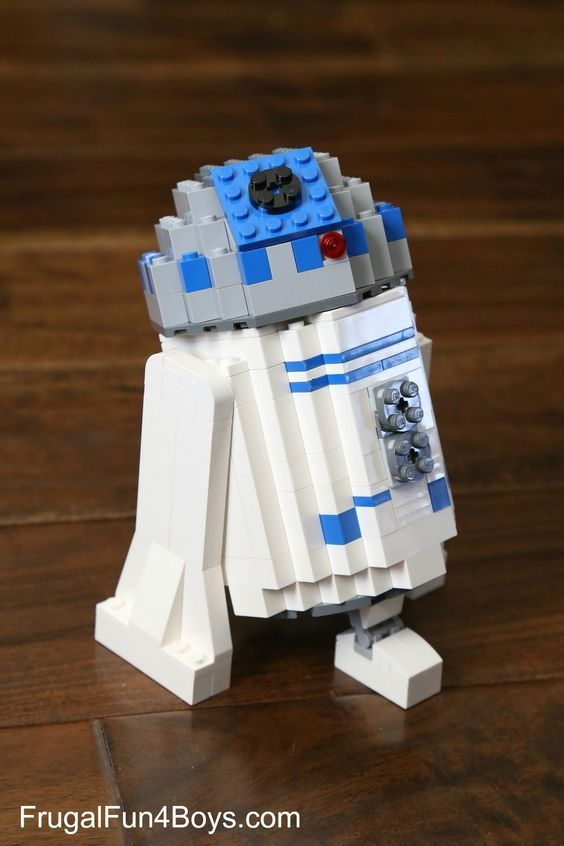 How to build a LEGO R2-D2! Well, the boys have been into all things Star Wars this week, and Aidan built this LEGO R2-D2. He looked at several options with a Google image search and then created this design. It should be fairly easy to put together if you have enough white and gray bricks! …