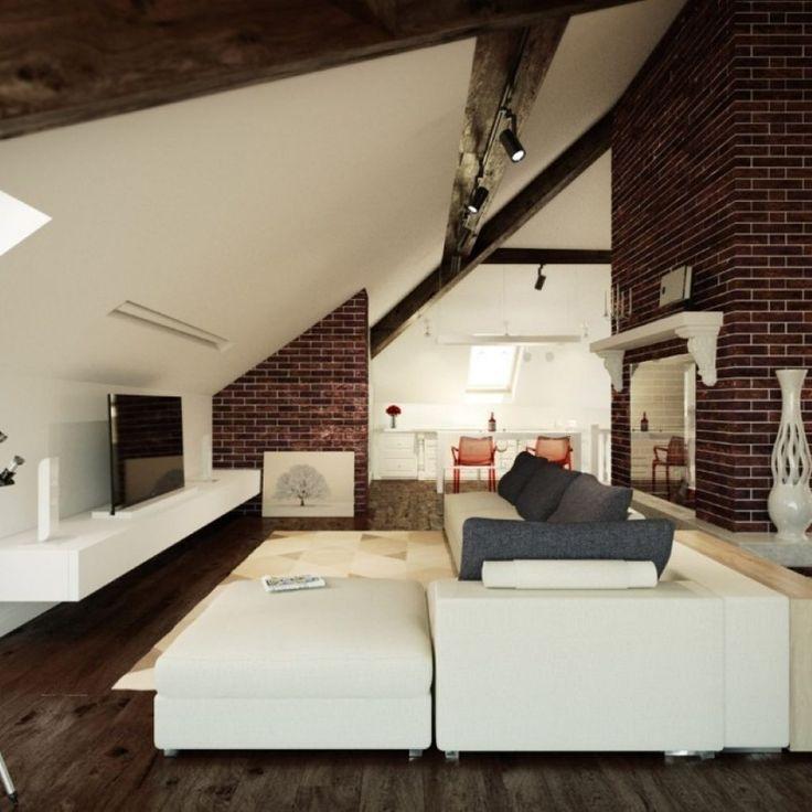 Best 25 angled ceilings ideas on pinterest angled - Slanted wall tv mount ...