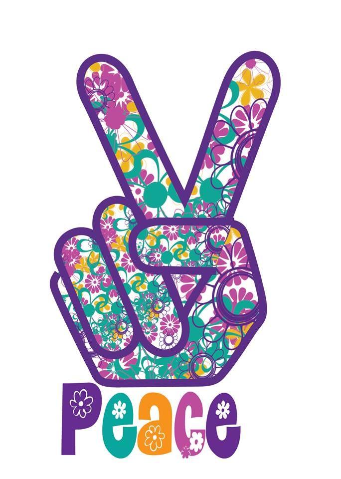 ➳➳➳☮American Hippie Art - peace