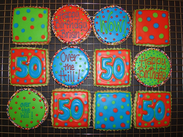 50th Birthday By Cookie Cutter Creations Jennifer Via