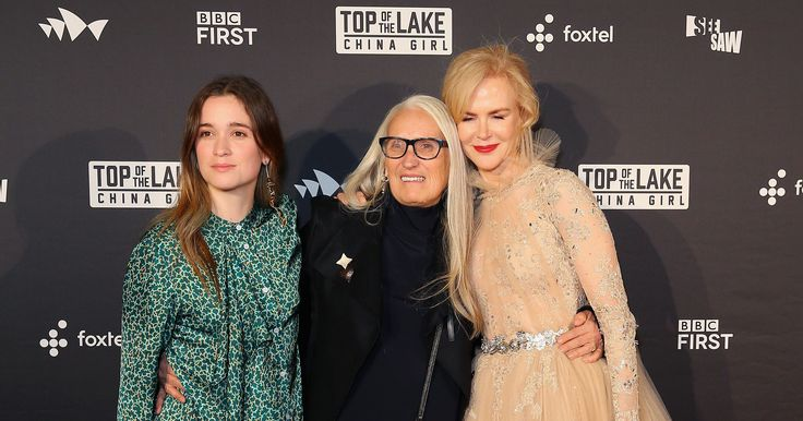 USA TODAY            USA TODAY                  Published 9:31 a.m. ET Aug. 1, 2017            Nicole Kidman stepped out in style for the Australia premiere of Top of the Lake Tuesday.   The actress looked elegant in a light-colored, tulle Zuhair Murad dress with silver adornments across the... - #Elegant, #Gown, #Kidman, #Lake, #Nicole, #Stuns, #Top