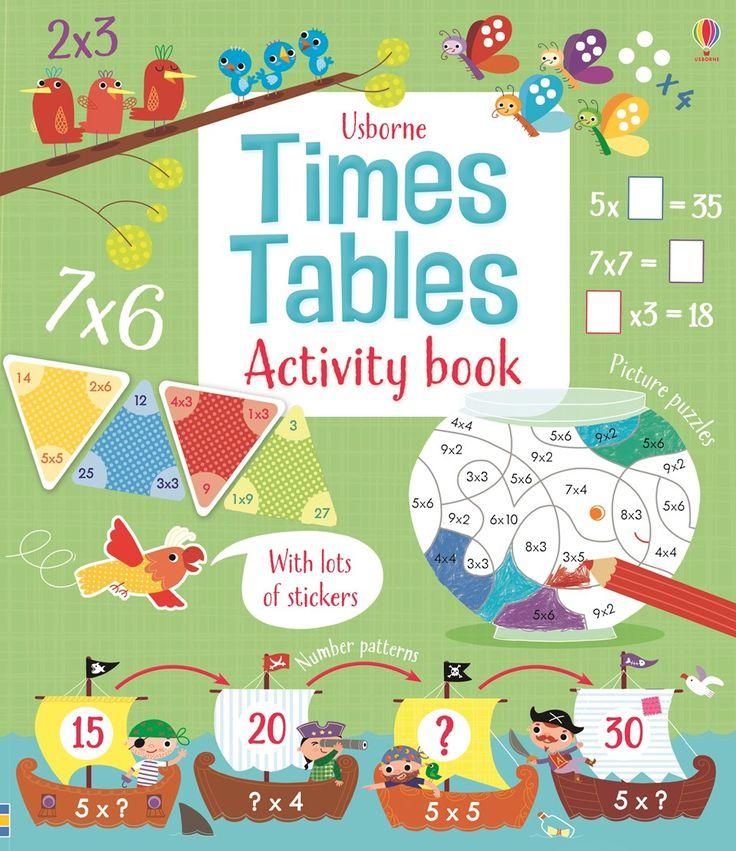 Usborne Times Tables Activity Book - http://usborneonline.ca/thebookgirls/catalogue/catalogue.aspx?cat=1&area=MTH&subcat=TT&id=9950