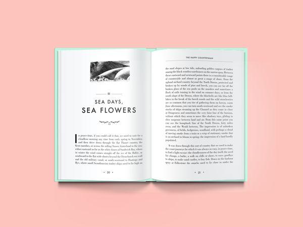 H.E. Bates Book Design by Daniel Forni, via Behance