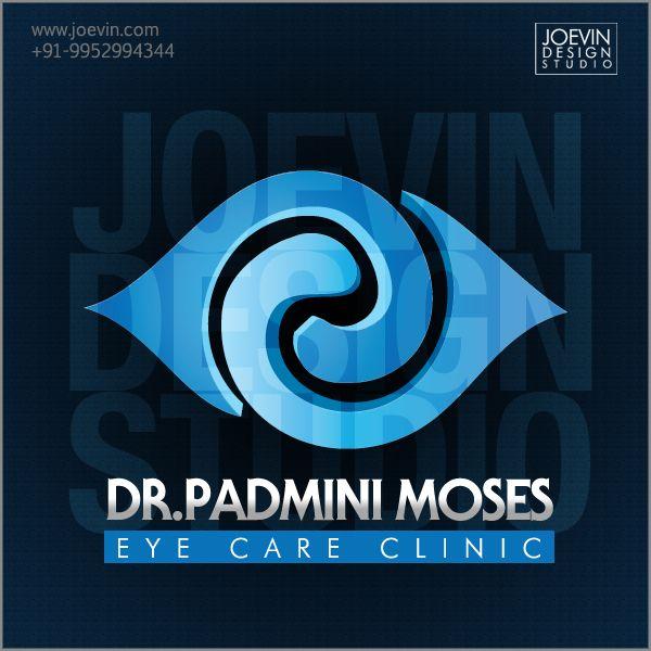 Logo Design - Padmini Moses Eye Care Clinic