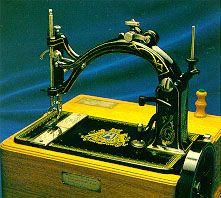 "A stitch in time! Husqvarna Viking's original ""cat back"" sewing machine, the Nordsjernan™ (Northern Star) was first built in 1872."