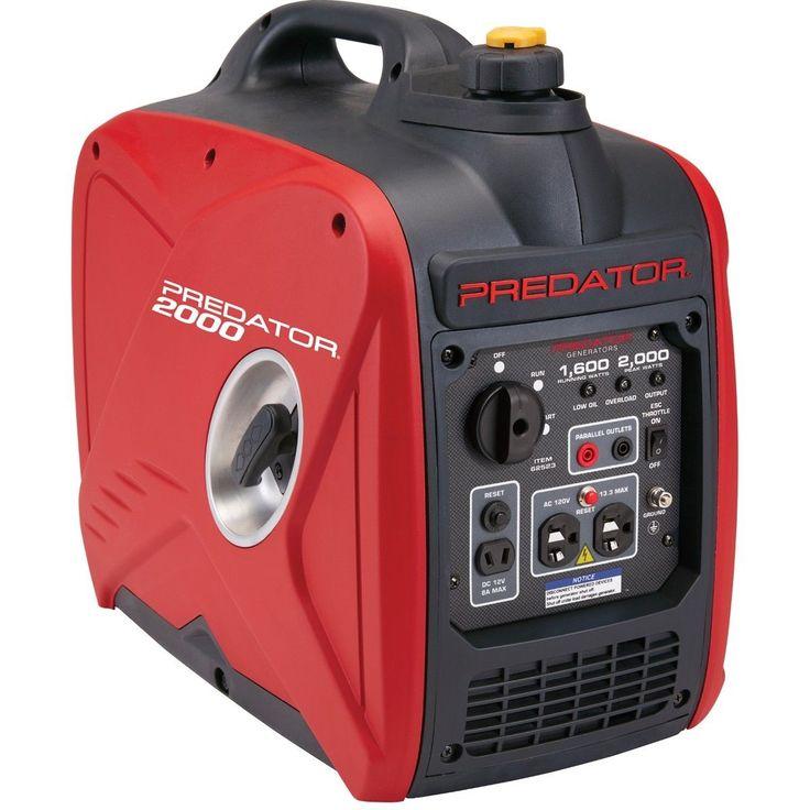 Free Shiping to Puerto Rico Predator 2000 Watt Generator Inverter Super Quiet
