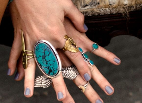 : Boho Rings, Big Rings, Fashion Style, Color, Boho Bold, Turquoi Rings, Adorn, American Jewelry, Turquoise Rings