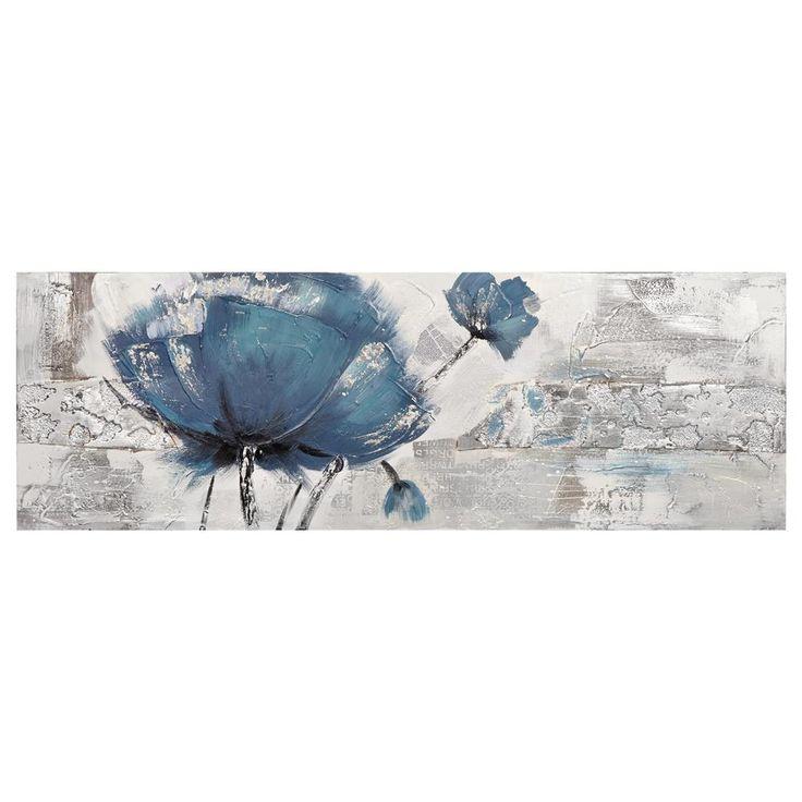 Canvas - Flower Oil Painting/Canvas + Framed Art/Wall Decor Bouclair.com